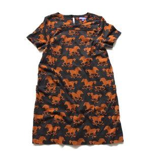 Vivienne Tam Horse Print Dress